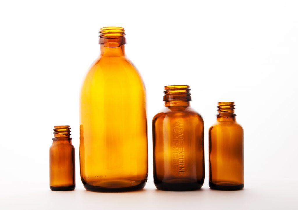 glass bottles for medicine