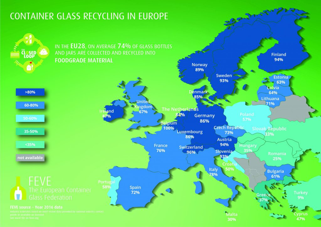 Recycling Map 2019 Updated May 2019